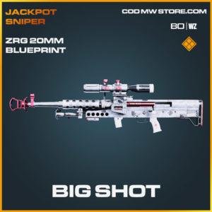Big Shot ZRG 20mm blueprint skin in Cold War and Warzone