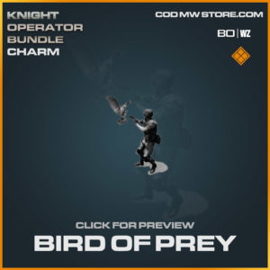 Bird of Prey charm in Cold War and Warzone