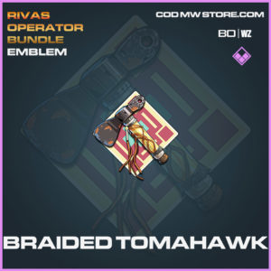 Braided Tomahawk emblem in Cold War and Warzone