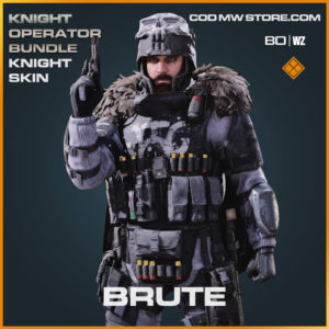 Brute Knight Skin in Cold War and Warzone