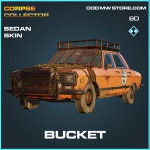 Bucket sedan skin in Cold War and Warzone