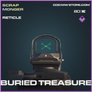 Buried Treasure reticle in Cold War and Warzone