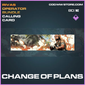 Change of Plans calling card in Cold War and Warzone