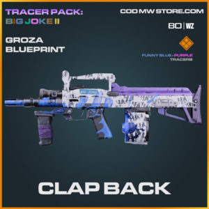 Clap Back Groza blueprint skin in Cold War and Warzone