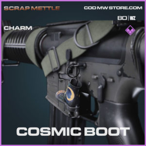 Cosmic Boot charm in Cold War and Warzone