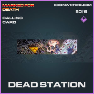 dead station calling card in Cold War and Warzone