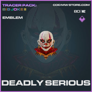 Deadly Serious emblem in Cold War and Warzone