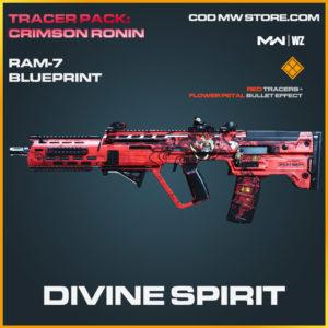 Divine Spirit RAM-7 blueprint skin in Modern Warfare and Warzone