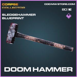 Doom Hammer Sledgehammer blueprint skin in Cold War and Warzone