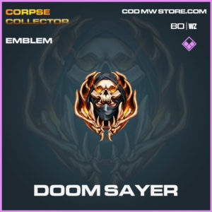 Doom Sayer emblem in Cold War and Warzone