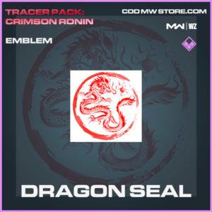Dragon Seal emblem in Modern Warfare and Warzone