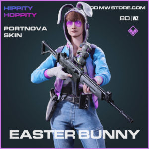 Easter Bunny Portnova skin in Cold War and Warzone