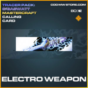 Electro Weapon calling card in Cold War and Warzone