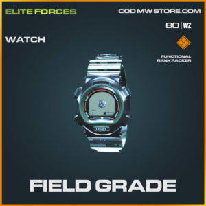 Field Grade watch in Cold War and Warzone