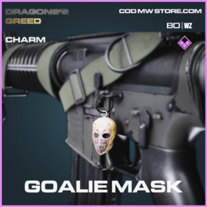 Goalie Mask charm in Cold War and Warzone