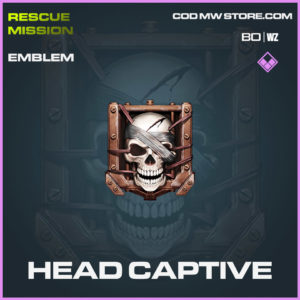Head Captive emblem in Cold War and Warzone
