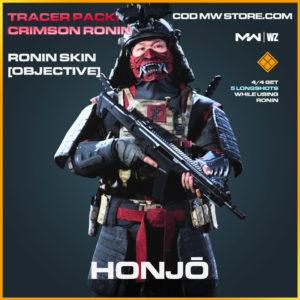 Honjo Honjō Ronin Skin in Modern Warfare and Warzone