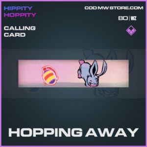 Hopping Away calling card in Cold War and Warzone