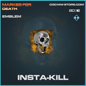 insta-kill emblem in Cold War and Warzone
