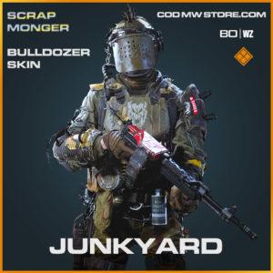 Junkyard Bulldozer skin in Cold War and Warzone