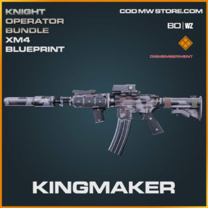 Kingmaker XM4 blueprint skin in Cold War and Warzone