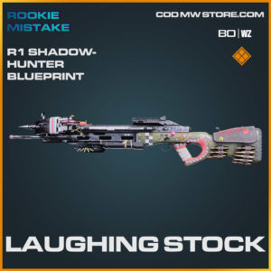 Laughing stock R1 Shadowhunter blueprint skin in Cold War and Warzone