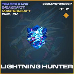 Lightning Hunter emblem in Cold War and Warzone