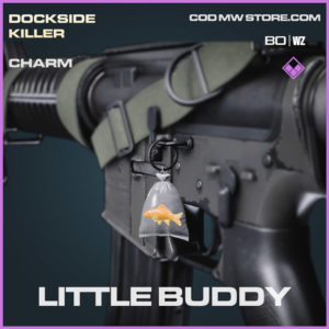 Little Buddy charm in Cold War and Warzone