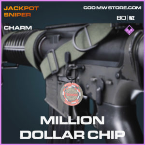 Million Dollar Chip charm in Cold War and Warzone