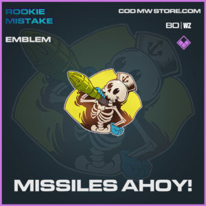 Missiles Ahoy! emblem in Cold War and Warzone