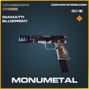Monumetal Diamatti blueprint skin in Cold War and Warzone