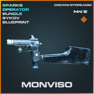 Monviso Sykov blueprint skin in Modern Warfare and Warzone