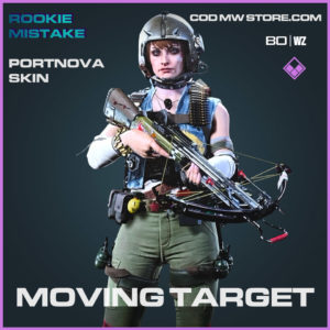 Moving Target Portnova Skin in Cold War and Warzone