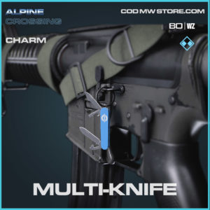 Multi-Knife charm in Cold War and Warzone