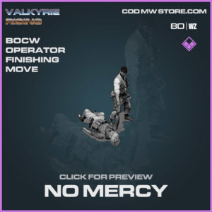 No Mercy Finishing move in Cold War and Warzone