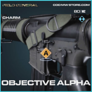 Objective Alpha charm in Cold War and Warzone