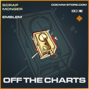 Off The Charts emblem in Cold War and Warzone