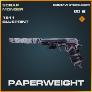 Paperweight 1911 blueprint skin in Cold War and Warzone