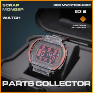 Parts Collector watch in Cold War and Warzone