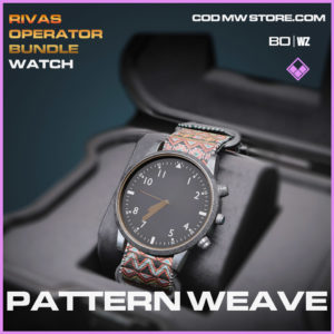 Pattern Weave watch in Cold War and Warzone