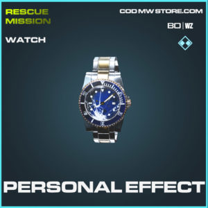 Personal Effect Watch in Cold War and Warzone