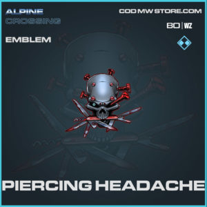 Piercing Headache emblem in Cold War and Warzone