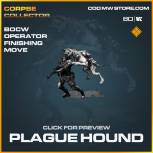 Plague Hound finishing move in Cold War and Warzone