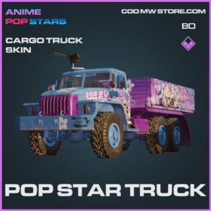 Pop Star Truck Cargo Truck Skin in Cold War and Warzone
