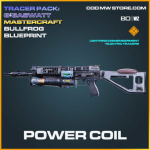 Power Coil Bullfrog blueprint skin in Cold War and Warzone