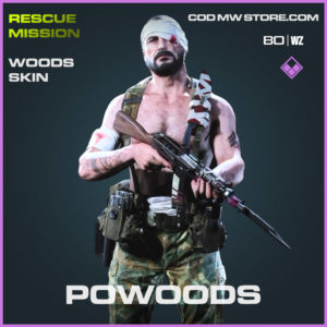 Powoods WOods skin in Cold War and Warzone