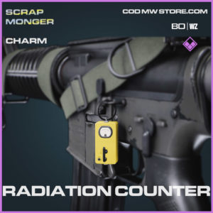 Radiation Counter charm in Cold War and Warzone