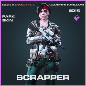 Scrapper Park skin in Cold War and Warzone