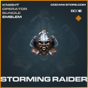 Storming Raider emblem in Cold War and Warzone