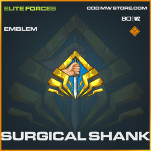 Surgical Shank emblem in Cold War and Warzone